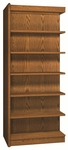 6-Shelf Double Sided Bookcase Adder [VS3565-A-IRO]