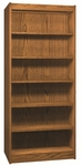 6-Shelf Double Sided Bookcase Starter [3565-S-IRO]