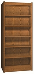 6-Shelf Double Sided Bookcase Starter [VS3565-S-IRO]