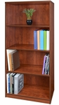 Sandia 30''W x 60''H 4 Shelf Laminate Bookcase - Cherry [SBC6030CH-FS-REG]