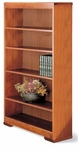 60 Traditional Series Open Bookcase [6036-FS-HALE]