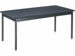 60''W Steel-Frame Science Table with Epoxy Resin Top [S306030EP-VCO]