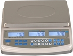 ABS Plastic NTEP Approved Price Computing Scale with Stainless Steel Top - 60 lb Capacity [PC60-SALB]