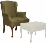 6225 Wing Chair - Grade 1 [6225-GRADE1-ACF]