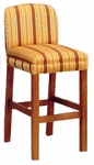 6261 Bar Stool w/ Upholstered Back & Spring Seat - Grade 2 [6261-GRADE2-ACF]