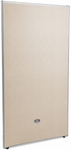 RiZe 63'' H x 31'' W Full Vinyl Floor Panel with Gray Frame - Beige Vinyl [P6331-GF-BV-MFO]