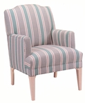 6300 Lounge Chair w/ Tapered Legs,Upholstered Spring Back & Seat - Grade 1 [6300-GRADE1-ACF]