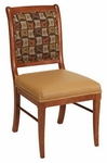 657 Side Chair with Upholstered Back and Web Seat - Grade 2 [657-GRADE2-ACF]