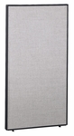 66'' H x 36'' W Privacy Panel - Light Gray [PP66736-03-FS-BBF]