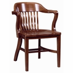 688 Arm Chair w/ Wood Seat [688-ACF]