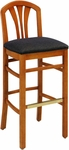 693 Bar Stool w/ Upholstered Back & Seat - Grade 2 [693-GRADE2-ACF]