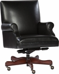 7-9250B Leather Executive Office Tilt Swivel Chair [7-9250B-FS-HKM]