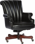 7-9251B Leather Executive Office Tilt Swivel Chair [7-9251B-FS-HKM]