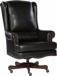 7-9254B Leather Executive Office Tilt Swivel Chair [7-9254B-FS-HKM]