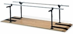 Height and Width Adjustable Parallel Bars - 28''W X 7''L X 29 - 42''H [HAU-1391-FS-HAUS]