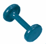 7 lb Vinyl Coated Dumbbell with Cast Iron [HAU-5516-V-FS-HAUS]