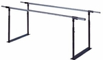 Folding Parallel Bars - 25''W X 84''L X 28 - 41''H [HAU-1319-FS-HAUS]