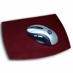 7000 Series Contemporary Leather - Burgundy Mouse Pad [A7014-FS-DAC]
