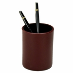 7000 Series Contemporary Leather - Burgundy Pencil Cup [A7010-FS-DAC]