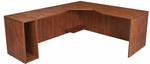 Legacy 29''H Left Angle Corner Wooden Desk with PVC Edge - Cherry [LADSL7130CH-FS-REG]