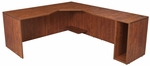 Legacy 29''H Right Angle Corner Wooden Desk with PVC Edge - Cherry [LADSR7130CH-FS-REG]