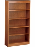 72''H Wood Bookcase with 4 Adjustable Shelves [BC3672-VCO]