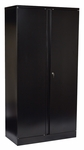 OSP Furniture Powdercoated 72'' High Storage Cabinet with 4 Adjustable Shelves [ST723618-FS-OS]