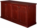 Prestige 72''W x 36''H Wooden Storage Buffet with Adjustable Shelves - Mahogany [TVSC7236MH-FS-REG]