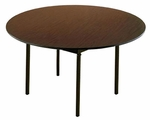 Customizable 720 Series Multi-Purpose Round Deluxe Hotel Banquet/Training Table - 54''Dia. x 30''H [722-M-BKS]