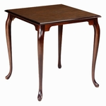 750 Dining Table: Shaped Top with Provincial Legs [750-ACF]
