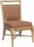 7556 Rattan Side Chair with Reversible Cushion - Grade 1 [7556-GRADE1-ACF]