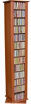 77'' Revolving Media Tower in Cherry Finish [2022-42CH-FS-VH]