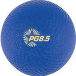 8.5 Dia. Playground Ball in Blue [PG85BL-FS-CHS]
