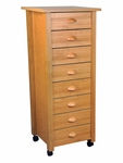 8-Drawer Mobile Cart [4057-FS-VH]