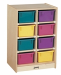 8 Tray Mobile Storage Unit [0606JC-JON]