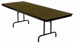 Customizable 800 Series Multi-Purpose Rectangular Deluxe Hotel Banquet/Training Table - 30''H [801-M-BKS]