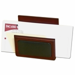 8000 Series Wood and Leather - Letter Holder [A8008-FS-DAC]