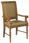 8002A Health Care Senior Living Dining Chair With Arms [8002A-FS-HKM]