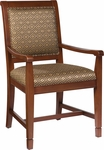 8004A Health Care Senior Living Dining Chair With Arms [8004A-FS-HKM]