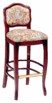 803 Bar Stool w/ Upholstered Back and Web Seat - Grade 2 [803-GRADE2-ACF]