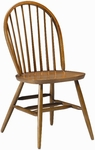 835 Side Chair with Wood Hoop Back and Wood Seat [835-ACF]