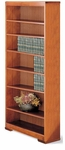 84 Traditional Series Open Bookcase [8436-FS-HALE]