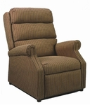 880 Recliner: 2 Position Wall-A-Way with Upholstered Spring Back & Seat - Grade 2 [880-GRADE2-ACF]