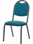 8900 Series Multi-Purpose Stack Chair with Round Back and Dome Seat - 18''W x 22''D x 35.5''H [8917-VCO]