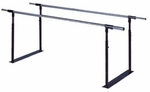 Folding Parallel Bars - 15''W X 108''L X 28 - 41''H [HAU-1318-FS-HAUS]