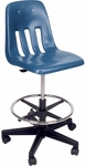 9000 Classic Series Drafting Stool - 25''W x 31.5''H - 38.75''H [9260GCLS-VCO]