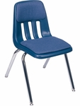 9000 Classic Series Stack Chair with 18''H Upholstered Seat - 18.75''W x 21.5''D x 30.63''H [9018P-VCO]