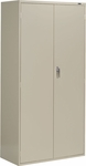 9300 Series QuickShip 2 Door Storage Cabinet [9336-S72L-FS-GLO]