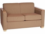 94002 Loveseat w/ Wood Trimmed Arm - Grade 1 [94002-GRADE1-ACF]