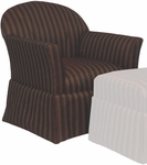 9455 Upholstered Lounge Chair w/ Web Seat - Grade 1 [9455-GRADE1-ACF]